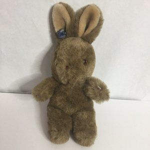 3/30 Vintage Brown Butterball Bunny Rabbit Plush